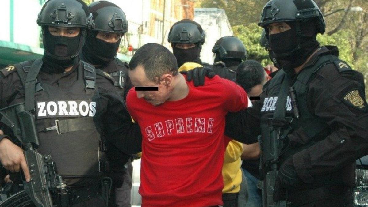 El Bandido Unión Tepito detenido