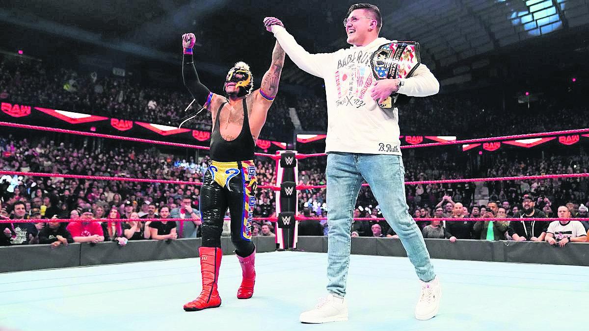 Rey Mysterio regresará a México como campeón de los Estados Unidos