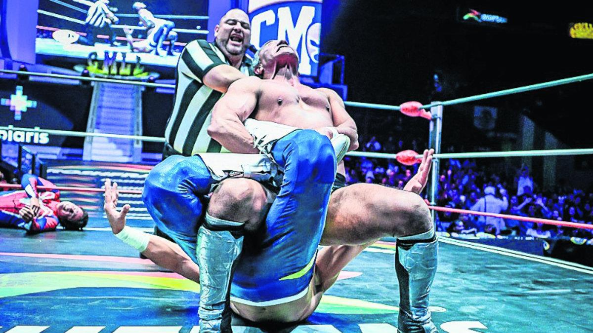 Negro Casas Soberano Jr. lucha libre