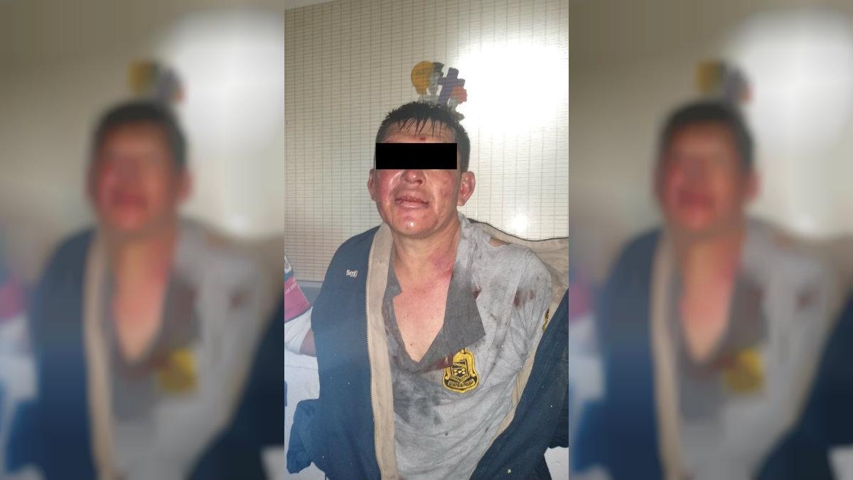 detenido metro taxqueña policias cdmx