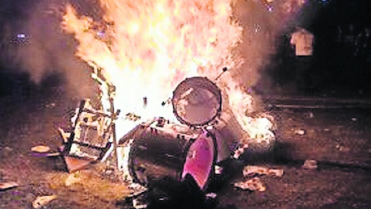 ¡En llamas! Esto fue lo que pasó en el Knot Fest este fin de semana