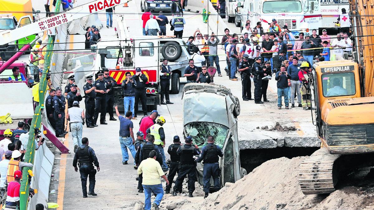 En el Paso Exprés de Morelos, autoridades han reportado 45 accidentes en un año