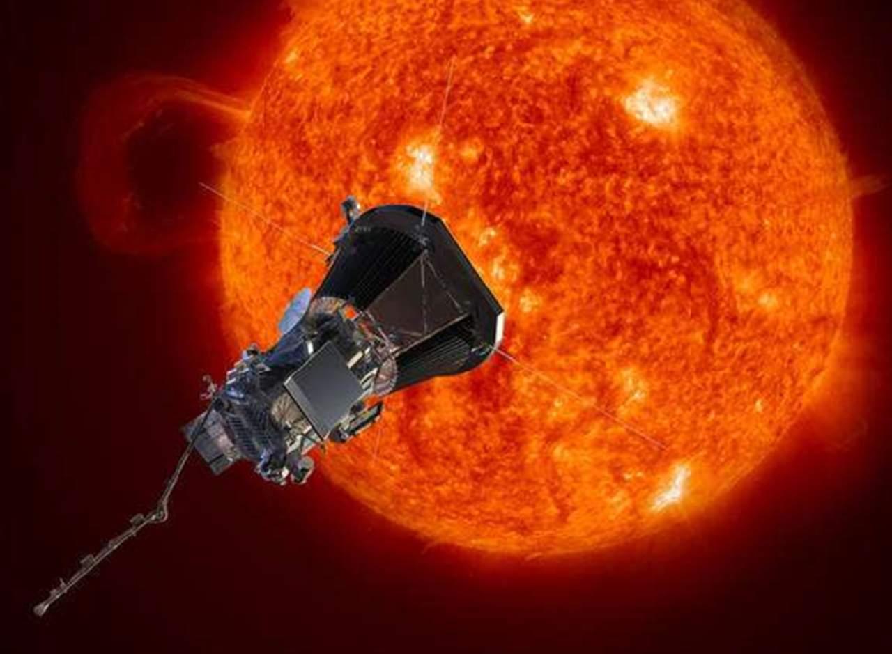 Sonda parker entra atmósfera sol primera vez nasa