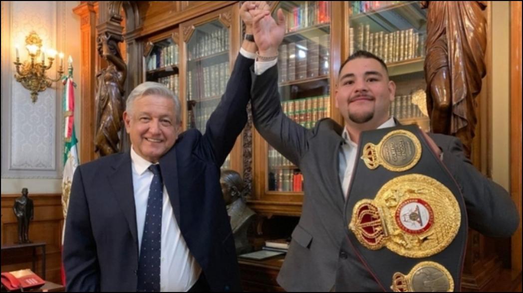 El mensaje de AMLO a Andy Ruiz previo a la pelea ante Anthony Joshua