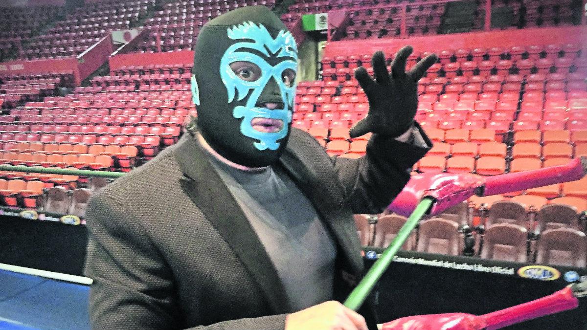 Mano Negra Arena México lucha libre luchador