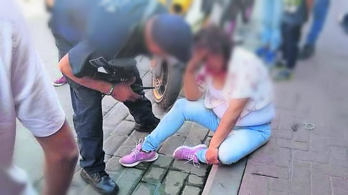 golpiza ladronas madre hija roban ropa san mateo atenco