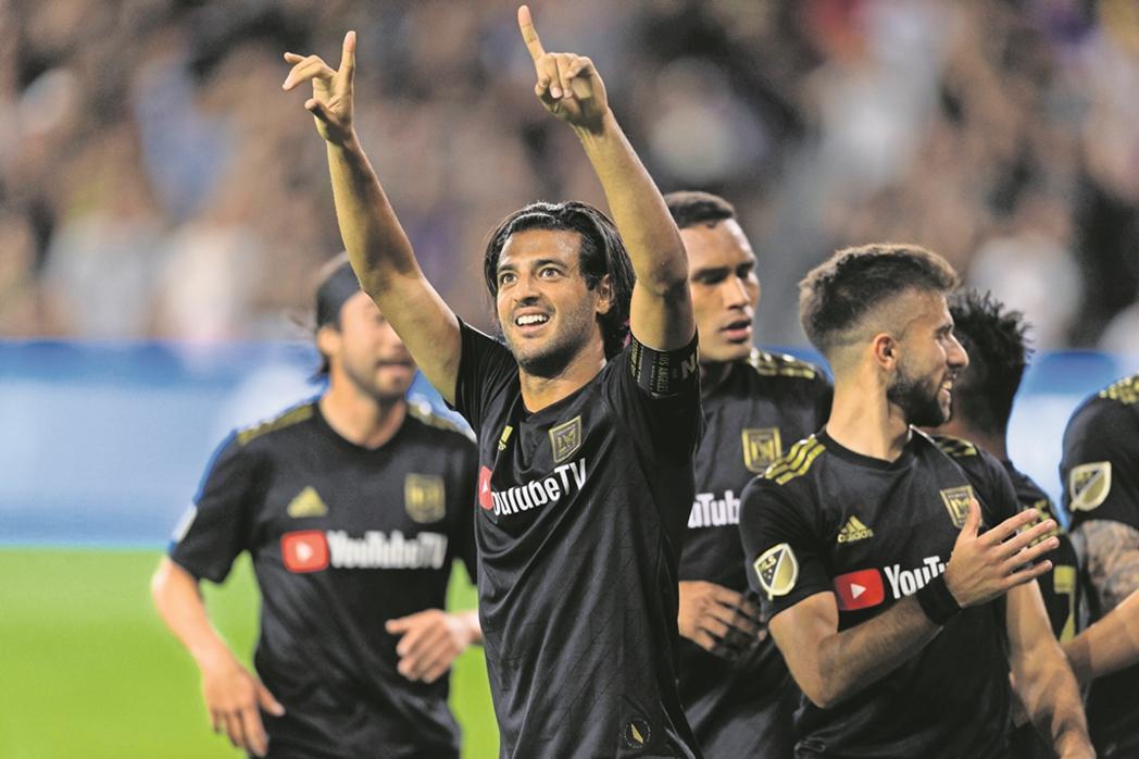 Carlos Vela con el LAFC