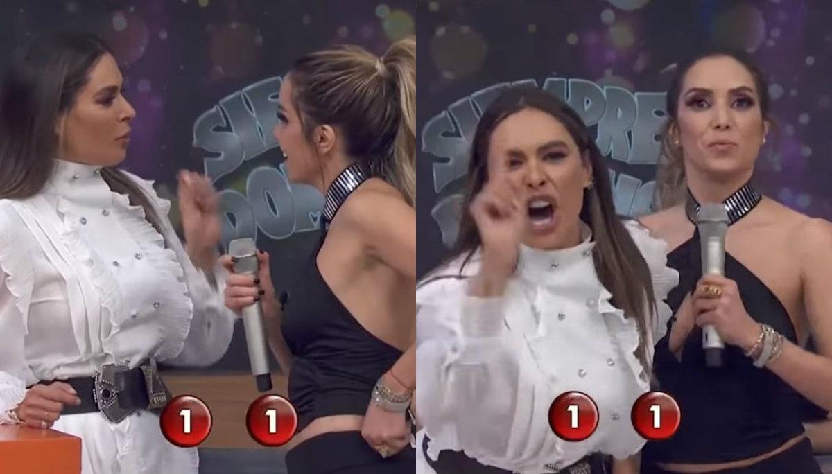 Galilea Montijo exhibe a su compañera Andrea Escalona en vivo; llama 'cochinona' a su mamá