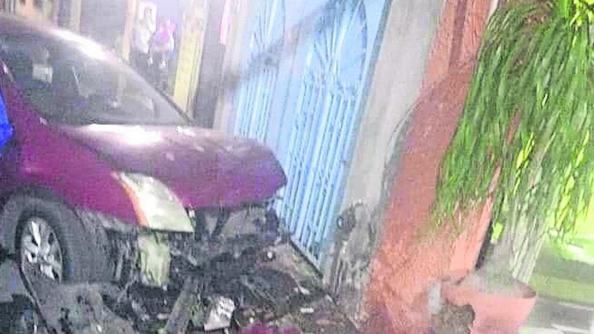 ebrio automóvil accidente choque