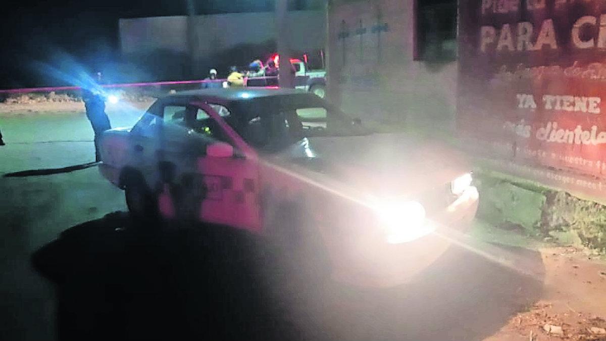 asesinato cadáver taxi