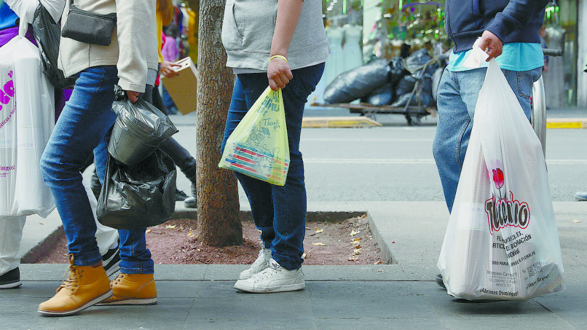 multa bolsa de plástico cdmx