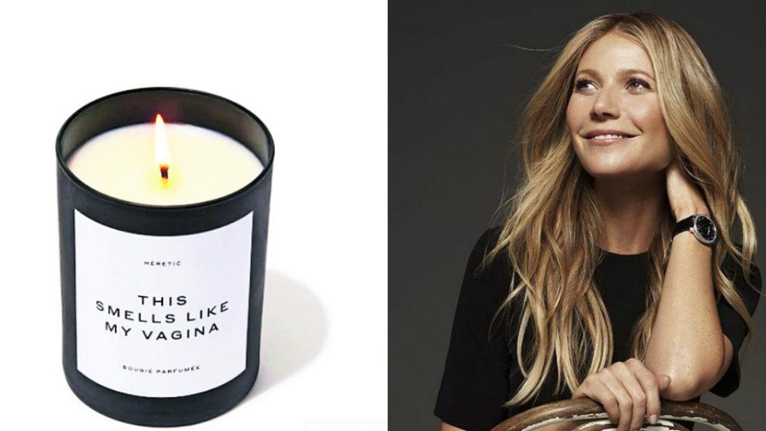 Gwyneth Paltrow vende velas con el olor de su parte íntima y se agotan