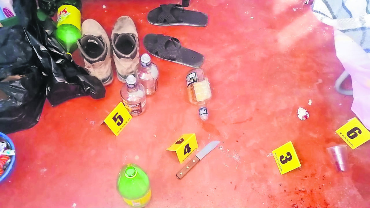 obrero Obrero borracho mata a puñaladas a su compañero tras una riña, en Lerma muere borrachos lerma