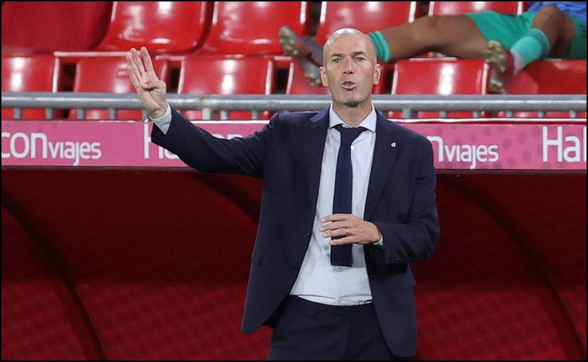 Así explotó Zidane en conferencia de prensa
