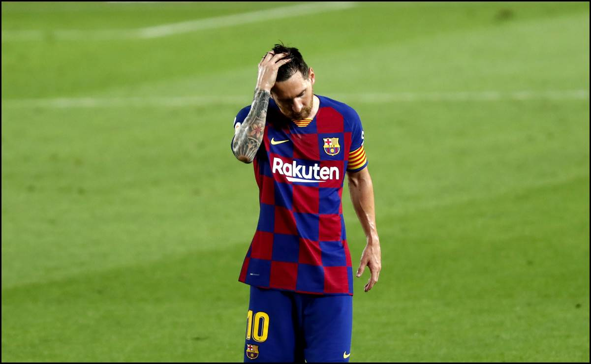 Si seguimos así vamos a perder la Champions: Messi