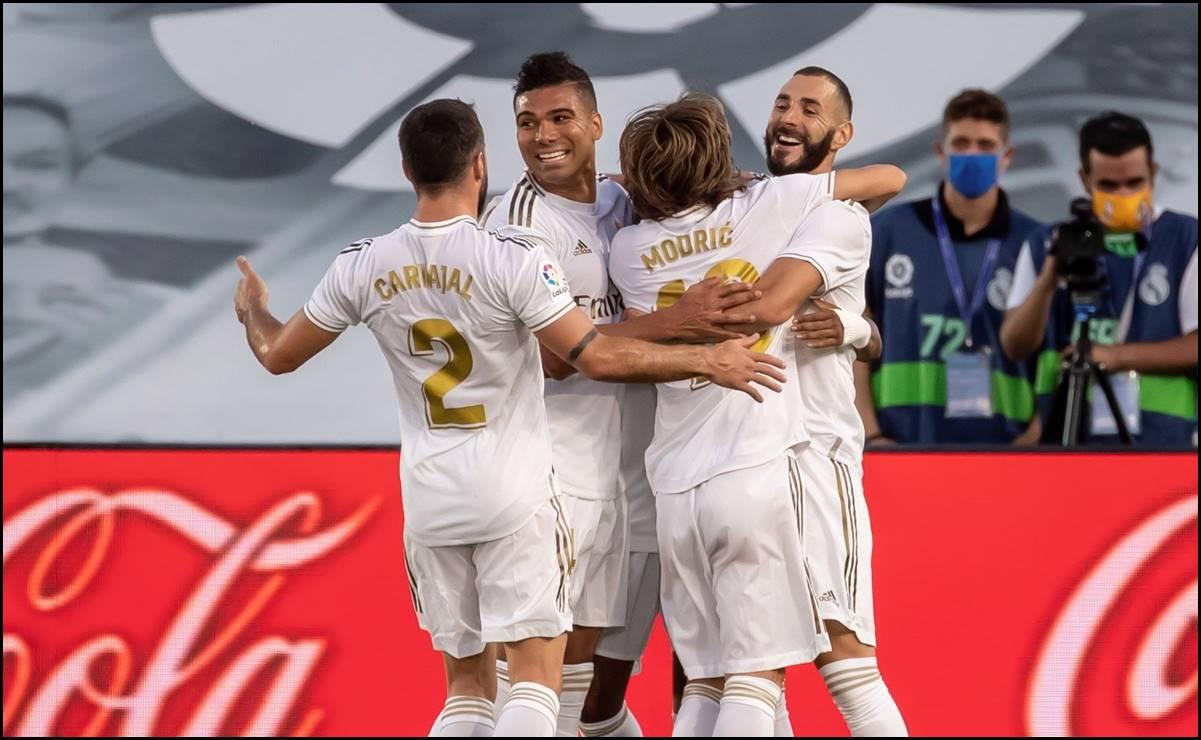El Real Madrid se corona en España
