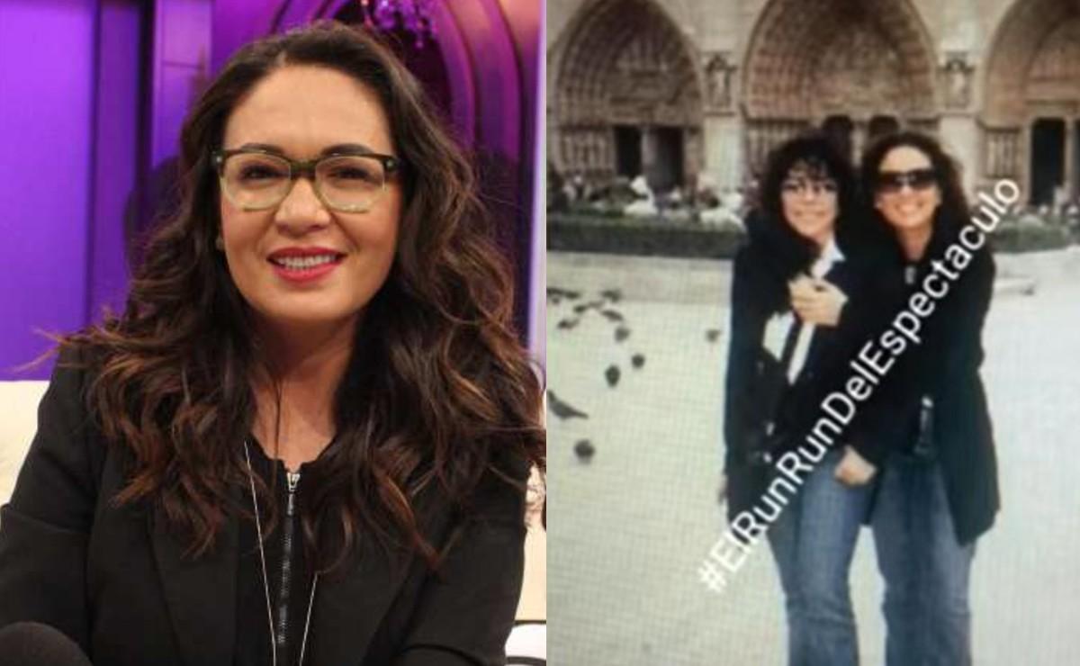 Yolanda Andrade rompe el silencio y aclara filtración de foto con Verónica Castro en París | El Gráfico Historias y noticias en un solo lugar