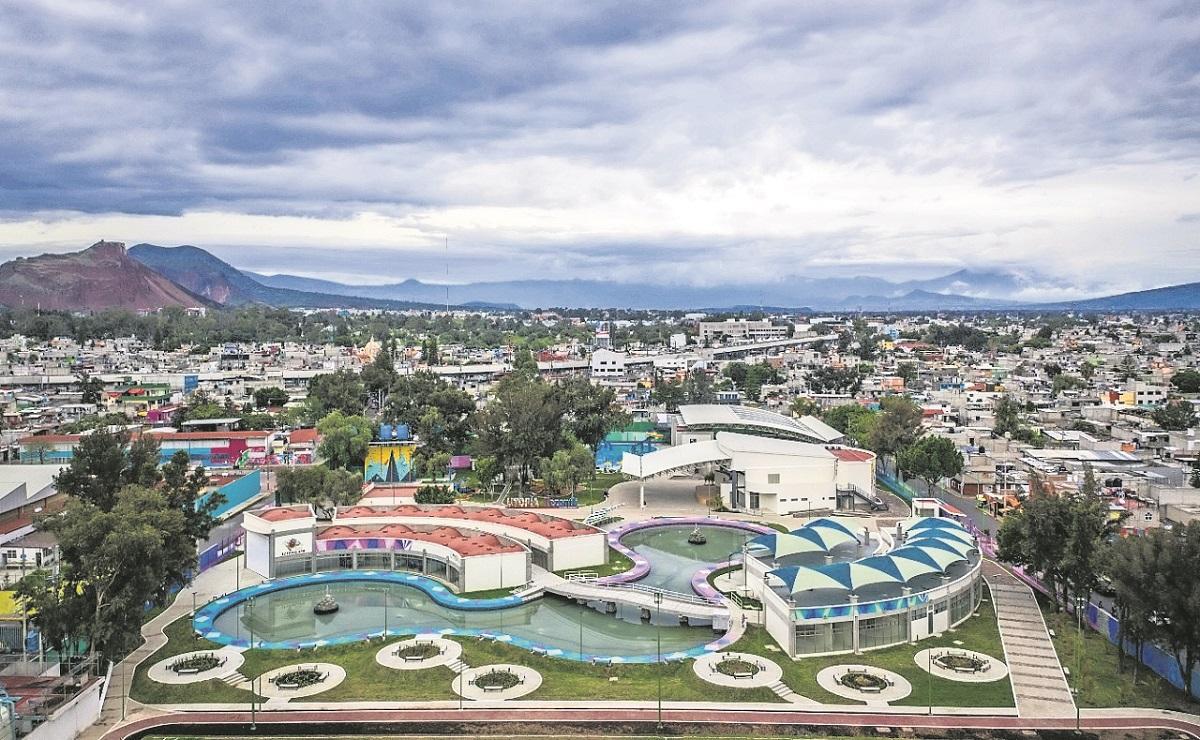 Recuperan terrenos del 'Deportivo San Lorenzo Tezonco' en Iztapalapa, crean parque familiar