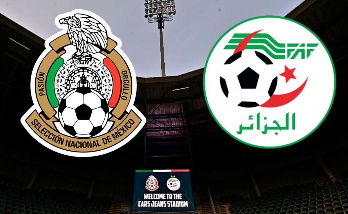 ¡En vivo! México vs Argelia