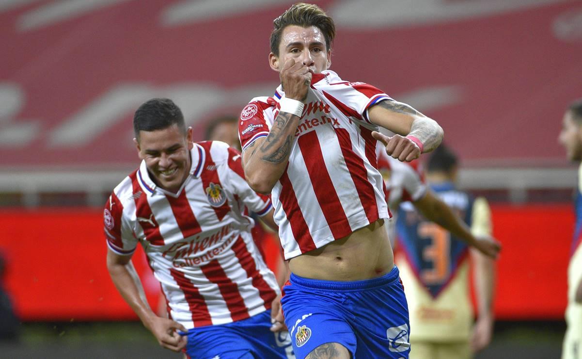 Chivas derrotó al América y tiene ventaja en los cuartos de final