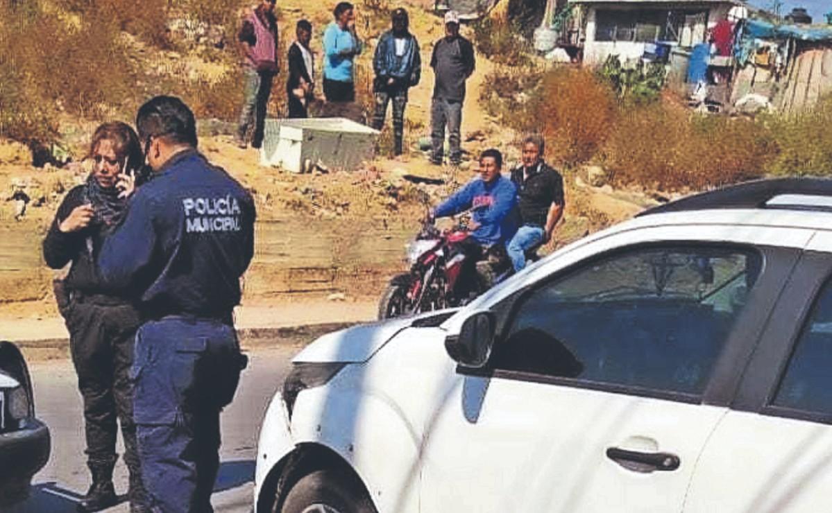 Peatón muere atropellado por un automovilista, cuando caminaba por calles del Edomex