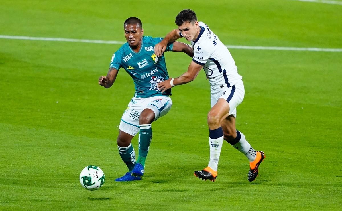Pumas empata contra León en la Final de ida del Guard1anes 2020, así estuvo el partido