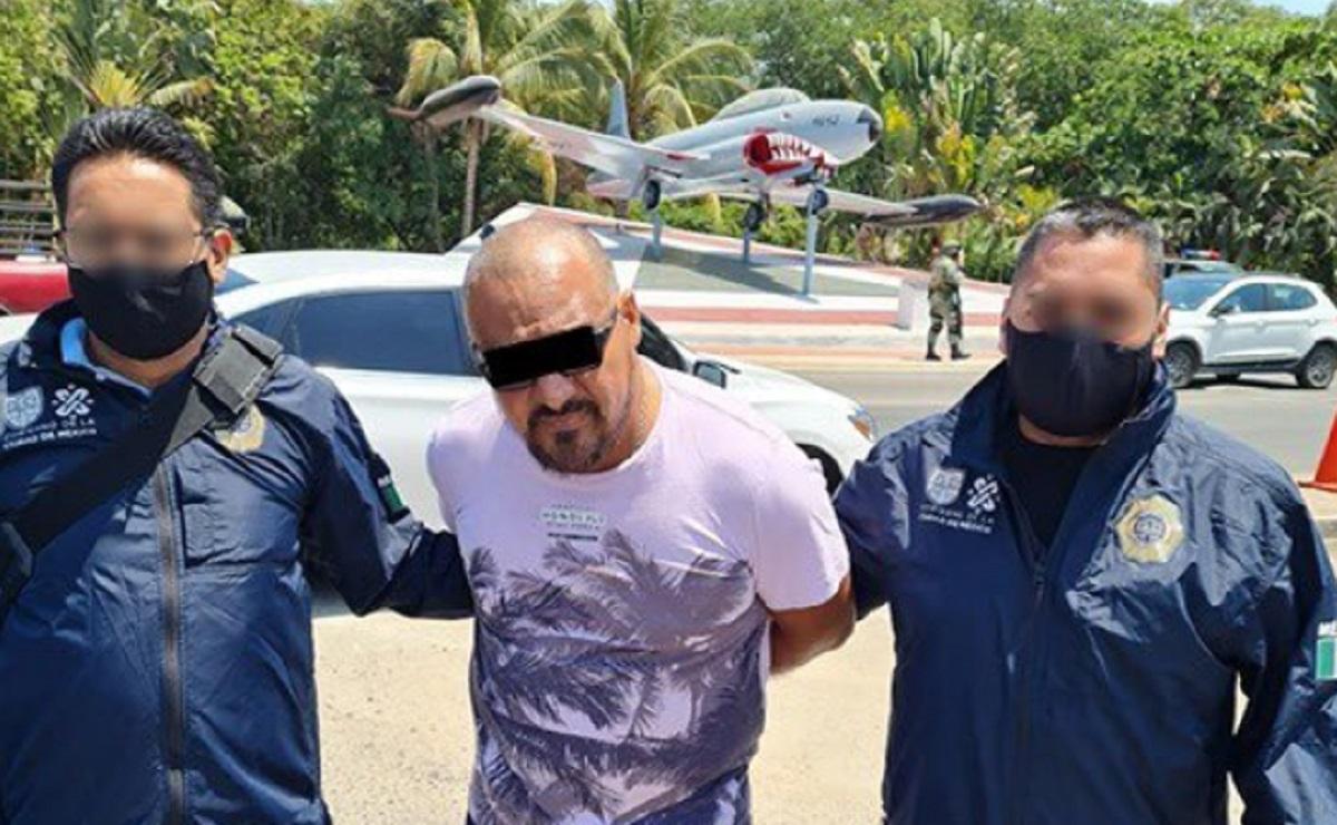Detienen a 'El Fabián' de La Unión Tepito en Acapulco, era uno de los 10 más buscados