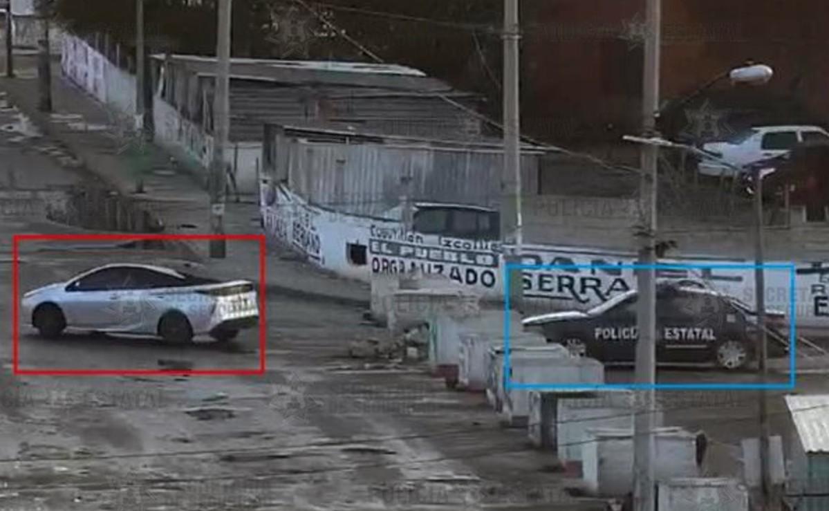 Localizan vehículo utilizado para cometer secuestro exprés y logran detener a uno, en CDMX