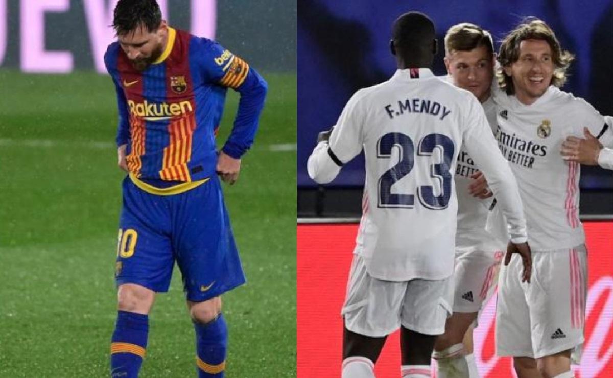 El Real Madrid derrota el Barcelona, en el Clásico de España