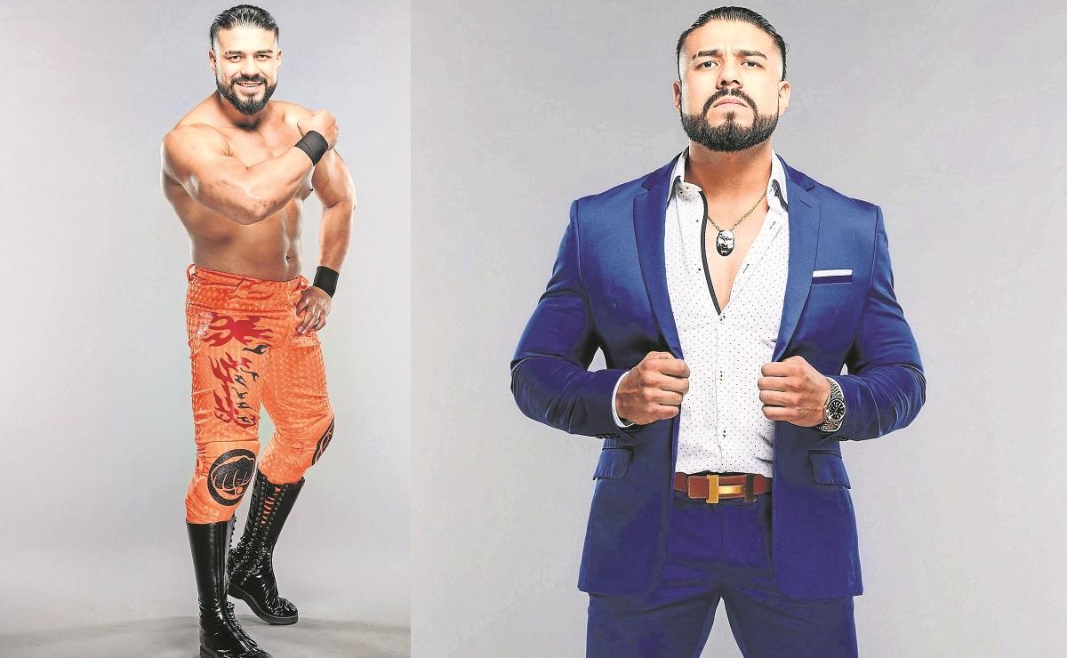 Andrade busca enfrentar a estrellas como El Hijo del Santo, Blue Demon Jr. y Psycho Clown