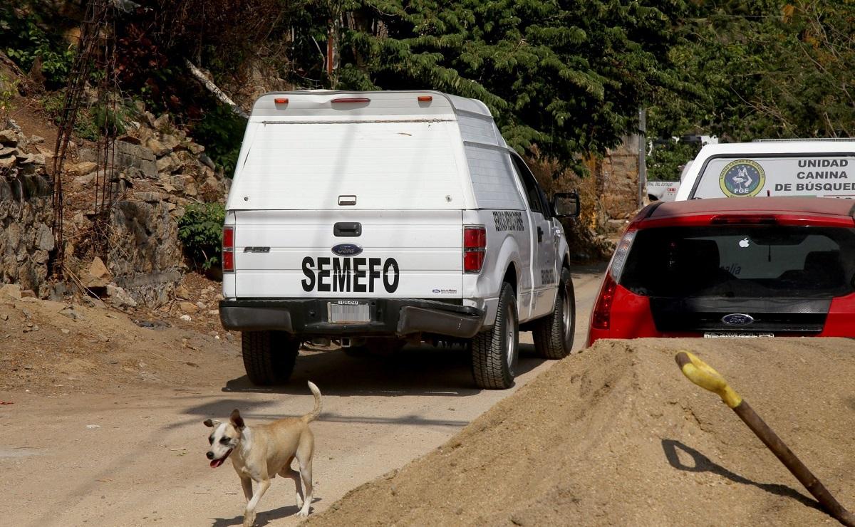 Hallan 3 cadáveres en fosa clandestina en Malinalco, Estado de México