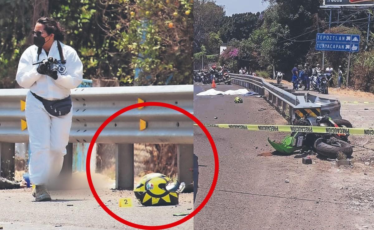 Menor de edad muere decapitado junto a su papá cuando iban en moto, en Morelos