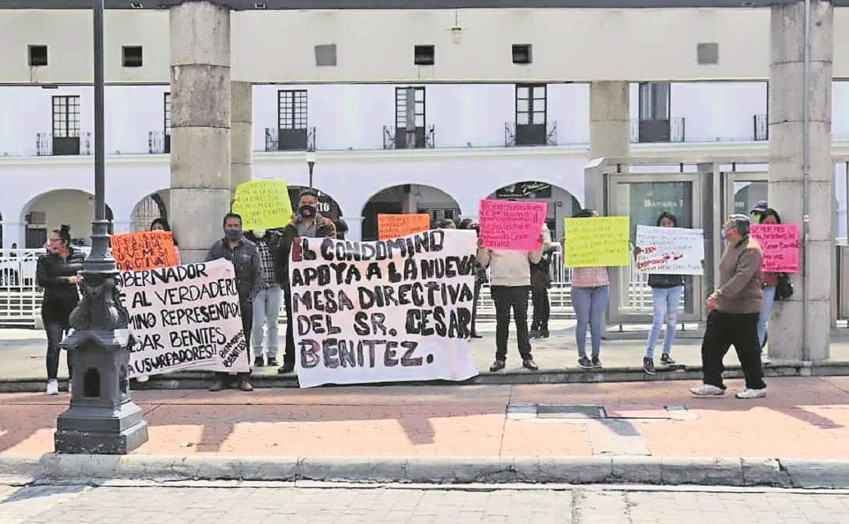 Persiste conflicto por el control de la mesa directiva de la Central de Abasto de Toluca