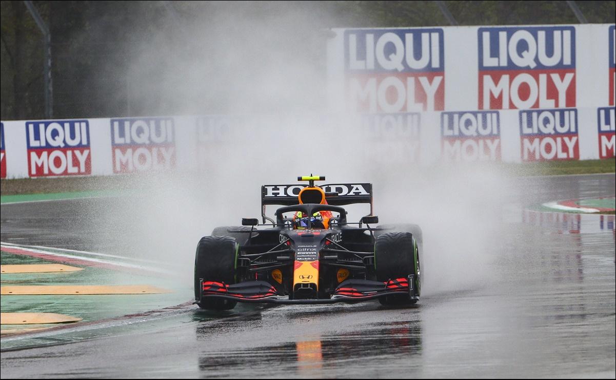 """El mexicano se dijo """"un idiota"""", por la manera en la que compitió durante el Gran Premio de Emilia-Romagna este domingo"""