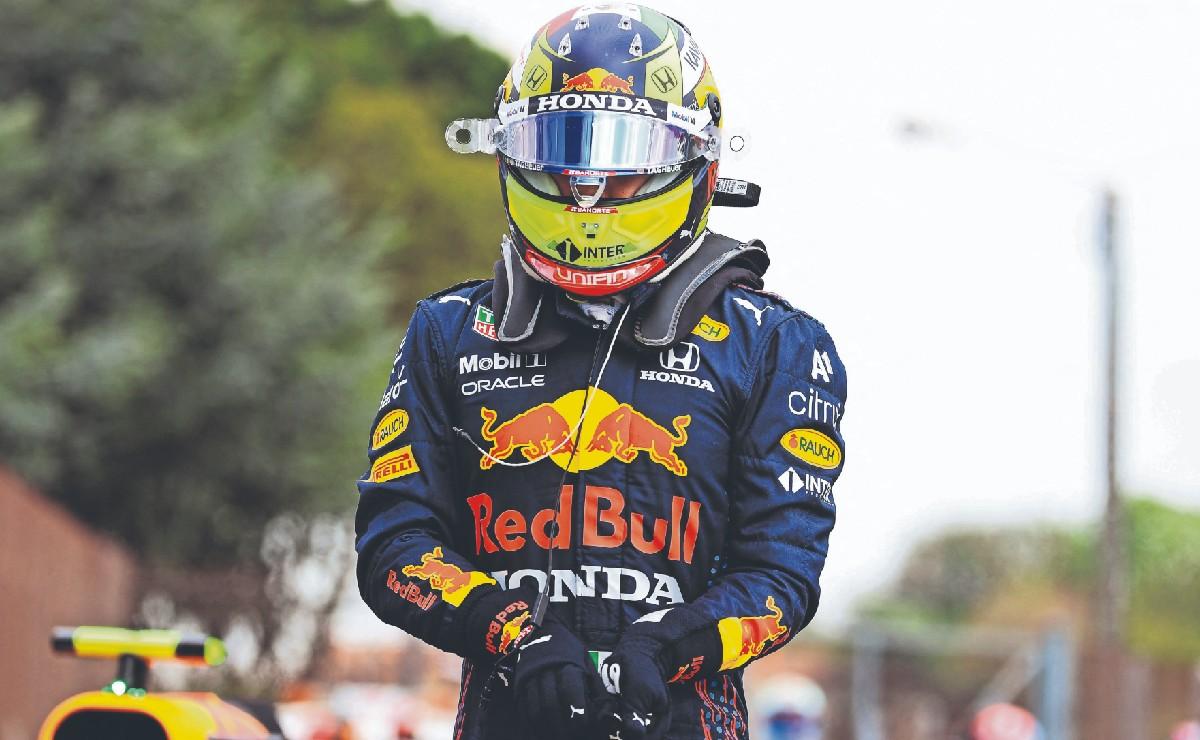 """""""Volveré fuerte"""", Checo Pérez se disculpa con su equipo tras fallas durante carrera del GP"""
