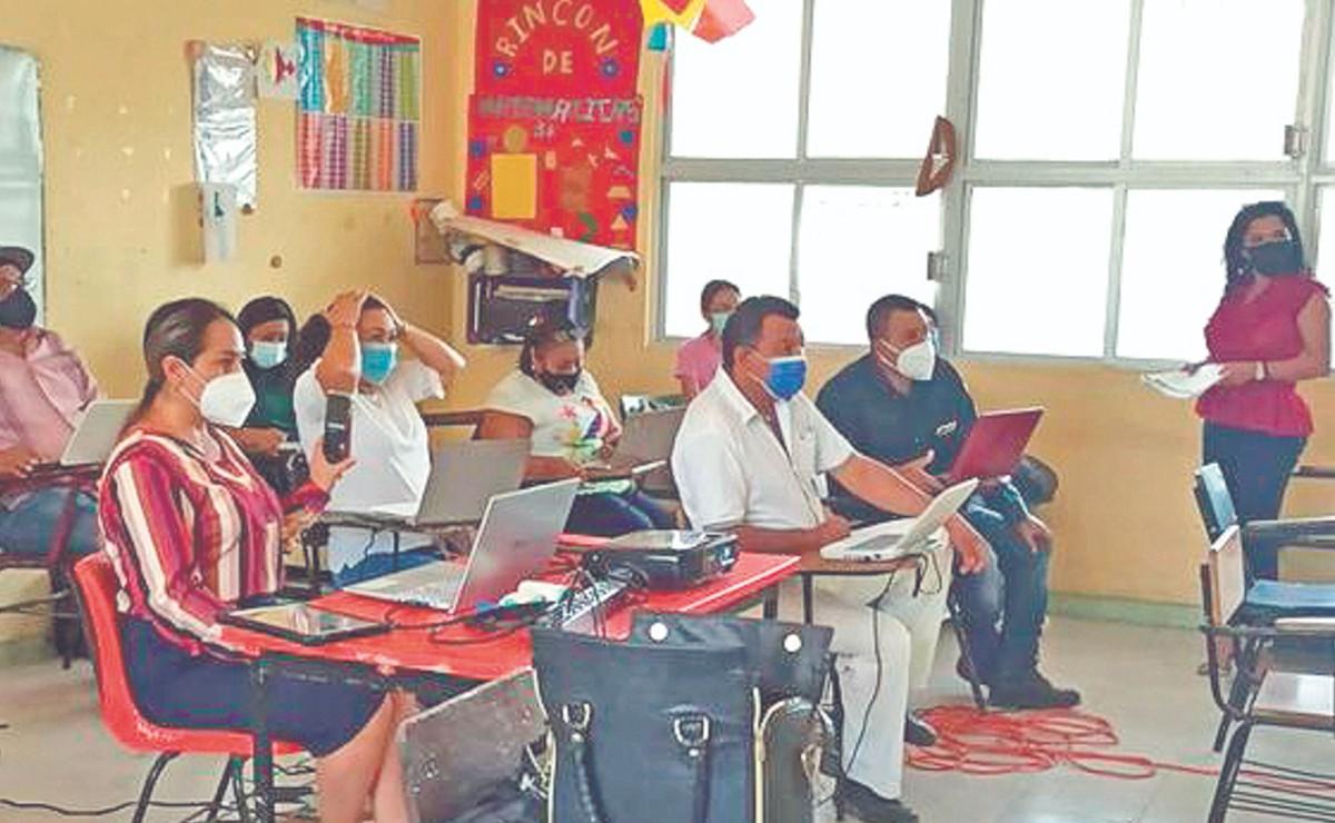 Campeche regresó hoy a clases presenciales, pero con dudas entre sus maestros por la salud