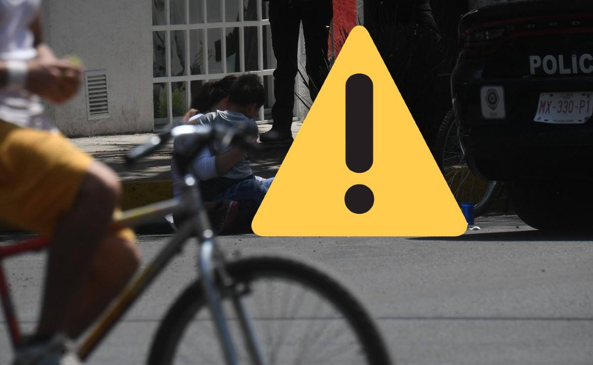 Mamá le llora desconsolada al cadáver de su hijo de 14 años, atropellado en calles de CDMX
