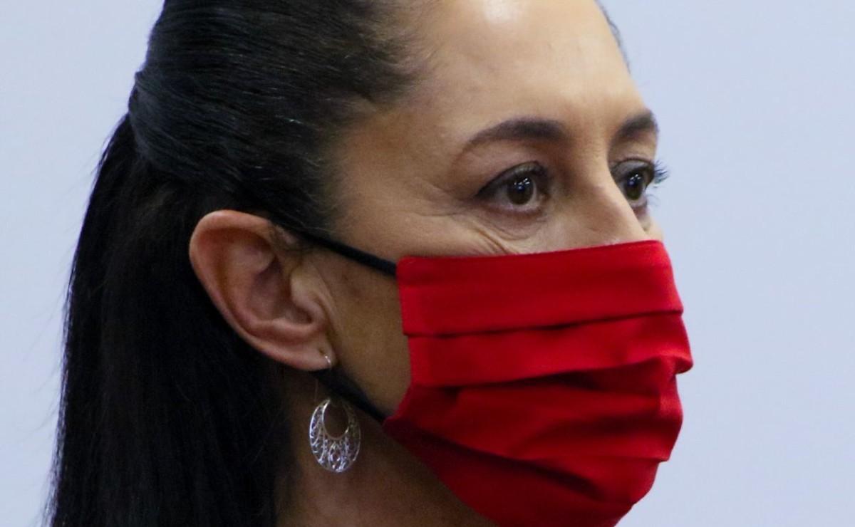 Claudia Sheinbaum rechaza que haya un repunte de Covid-19, en la Ciudad de México