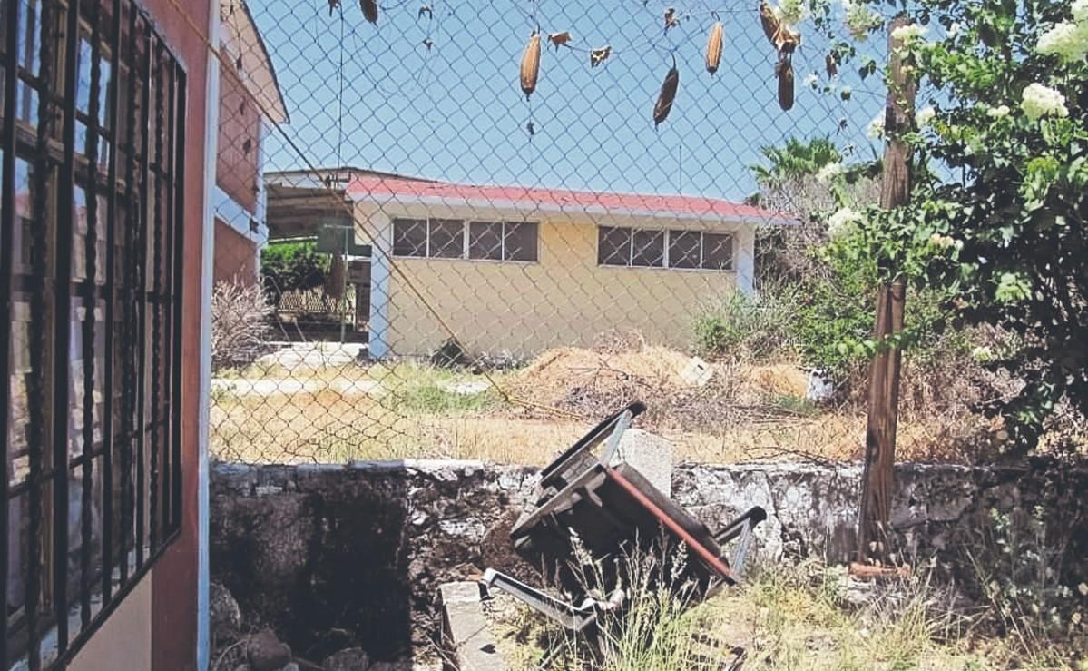 Por octava ocasión, ladrones roban cableado y material didáctico de un kínder en Morelos
