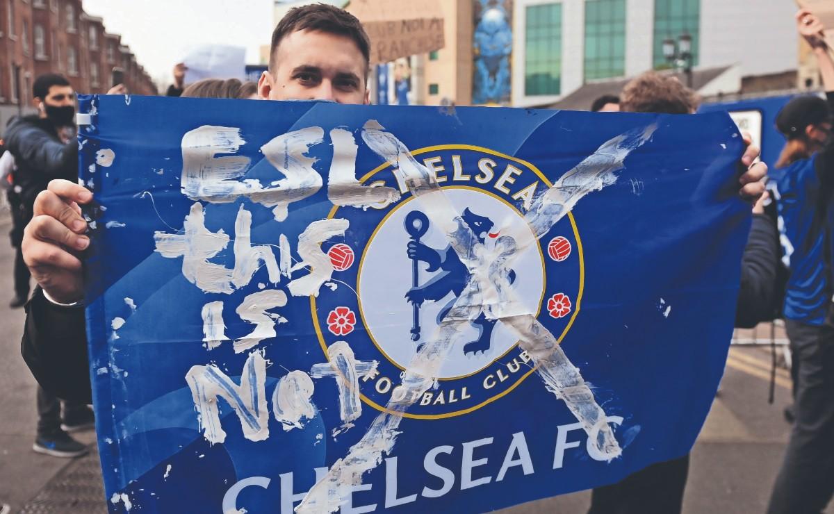 Presión de la afición obliga al Chelsea y otros clubes a renunciar a la Superliga
