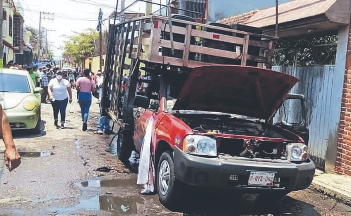 Mitin del PRD termina en tragedia, explota pirotecnia y deja cuatro heridos en Morelos