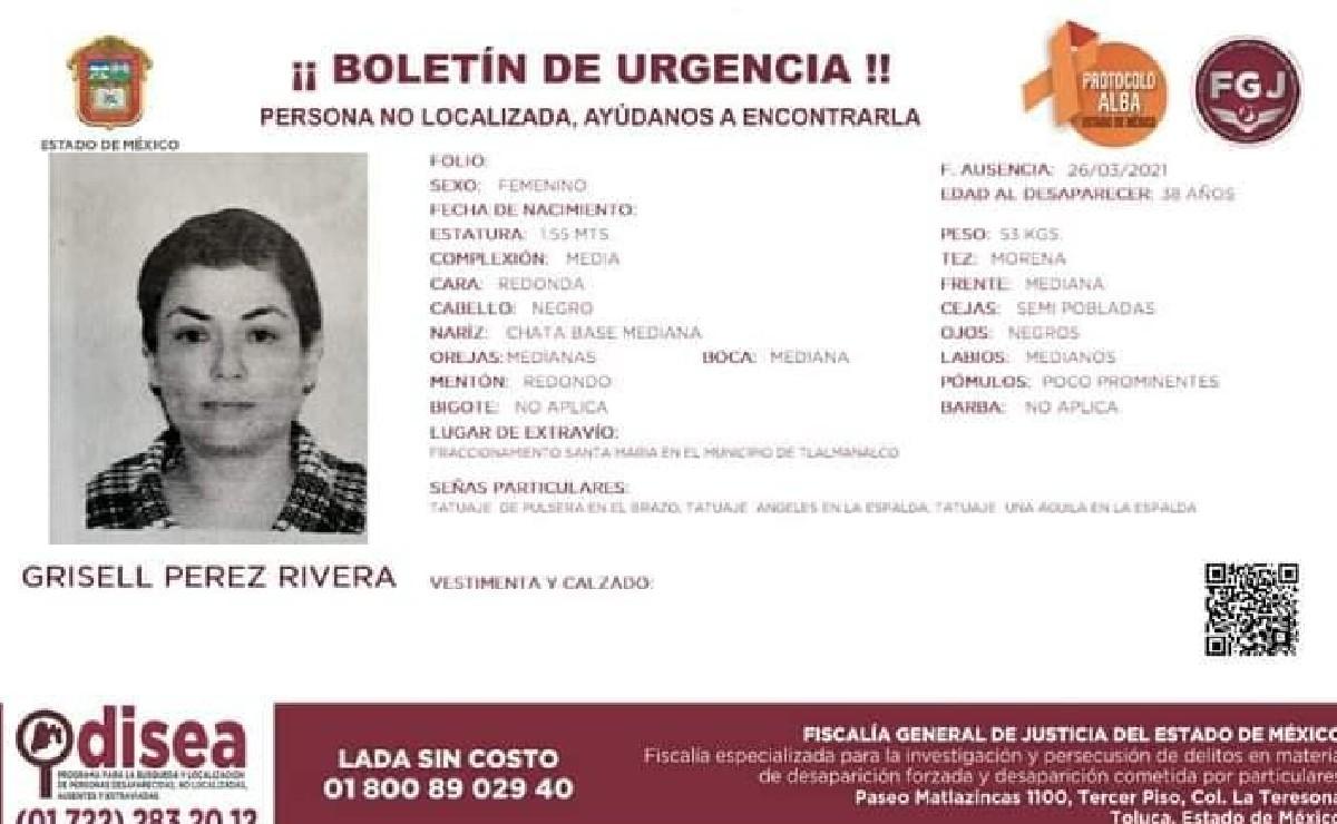 Grisell ayudaba a víctimas de feminicido y violencia en Edomex; ahora está desaparecida