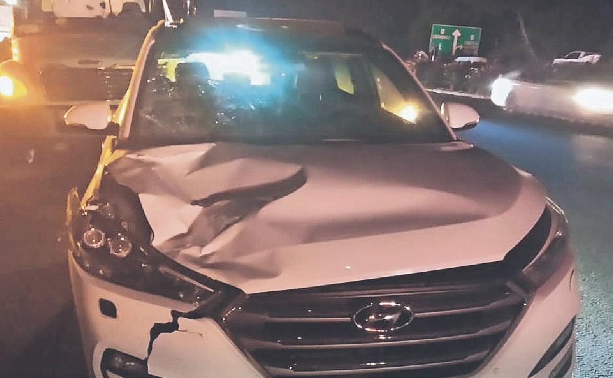 Hombre choca en Morelos, mientras esperaba al seguro fue al baño y muere atropellado