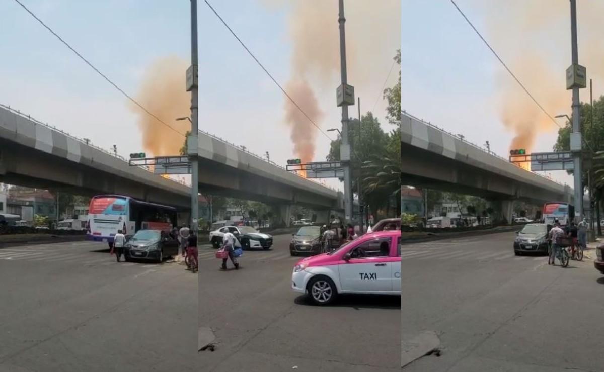 Incendio en cableado deja sin servicio a Línea 4 del STC Metro, apoyará RTP a usuarios