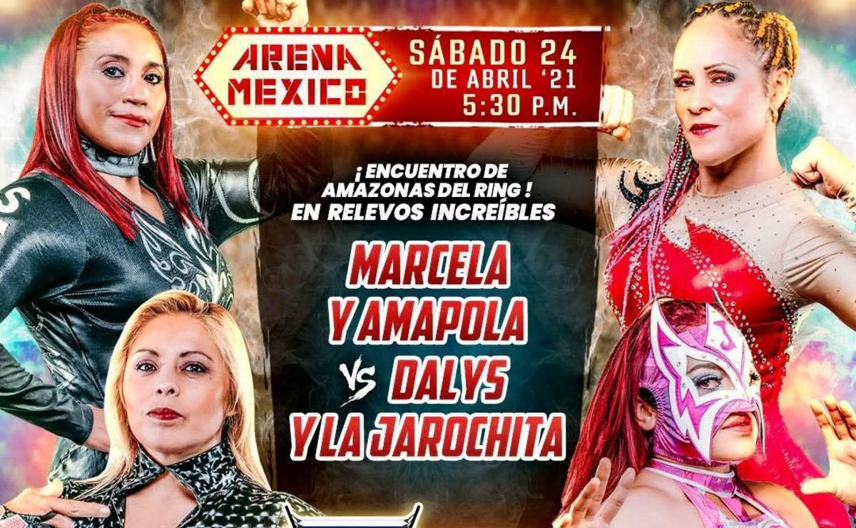Marcela y Amapola preparan dúo increíble para el 65 aniversario de la Arena México