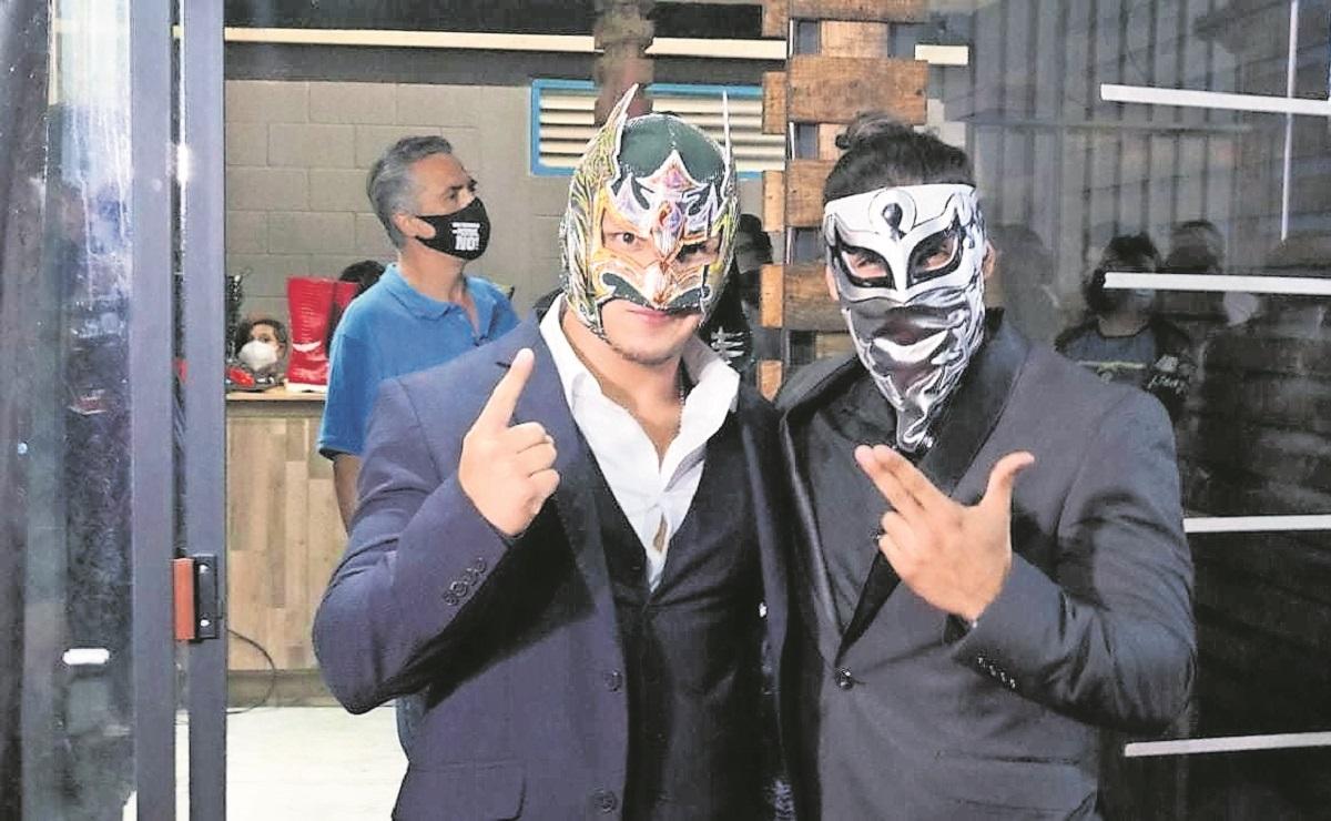 Bandido estrena moderno gimnasio en Iztapalapa, emprende su primer proyecto