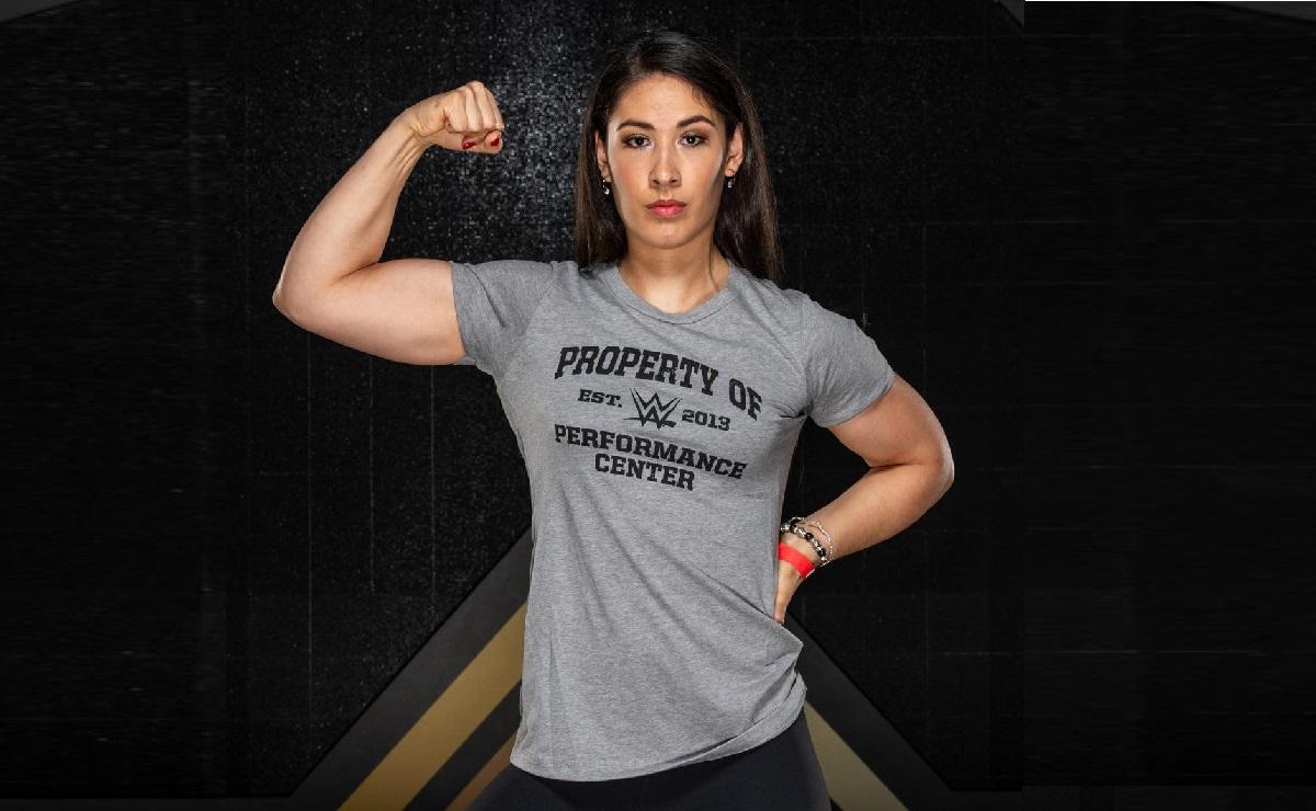 De levantadora de pesas a luchadora de la WWE, ella es la mexicana Jennifer Cantú