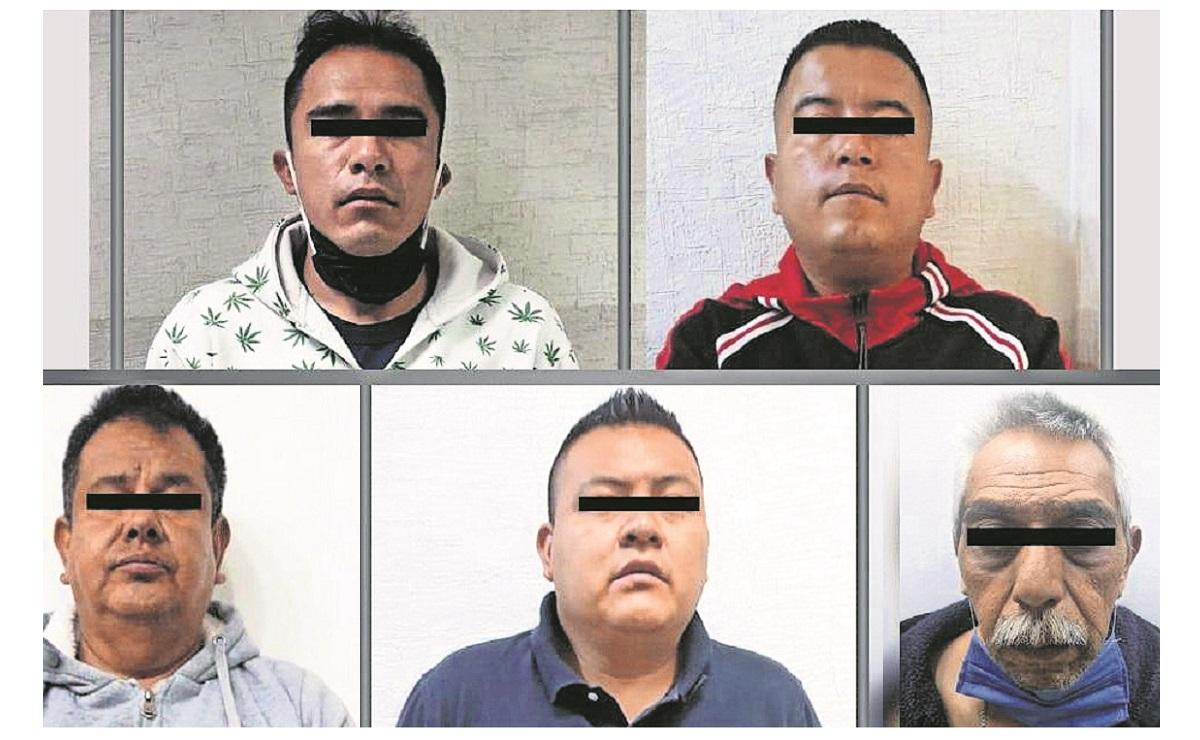 Detienen a 5 miembros de la Policía Municipal de Ecatepec, los acusan de secuestro exprés, Policía Municipal de Ecatepec