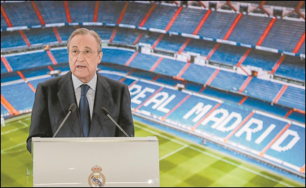 Florentino Pérez amenaza: Los clubes no pueden abandonar la Superliga