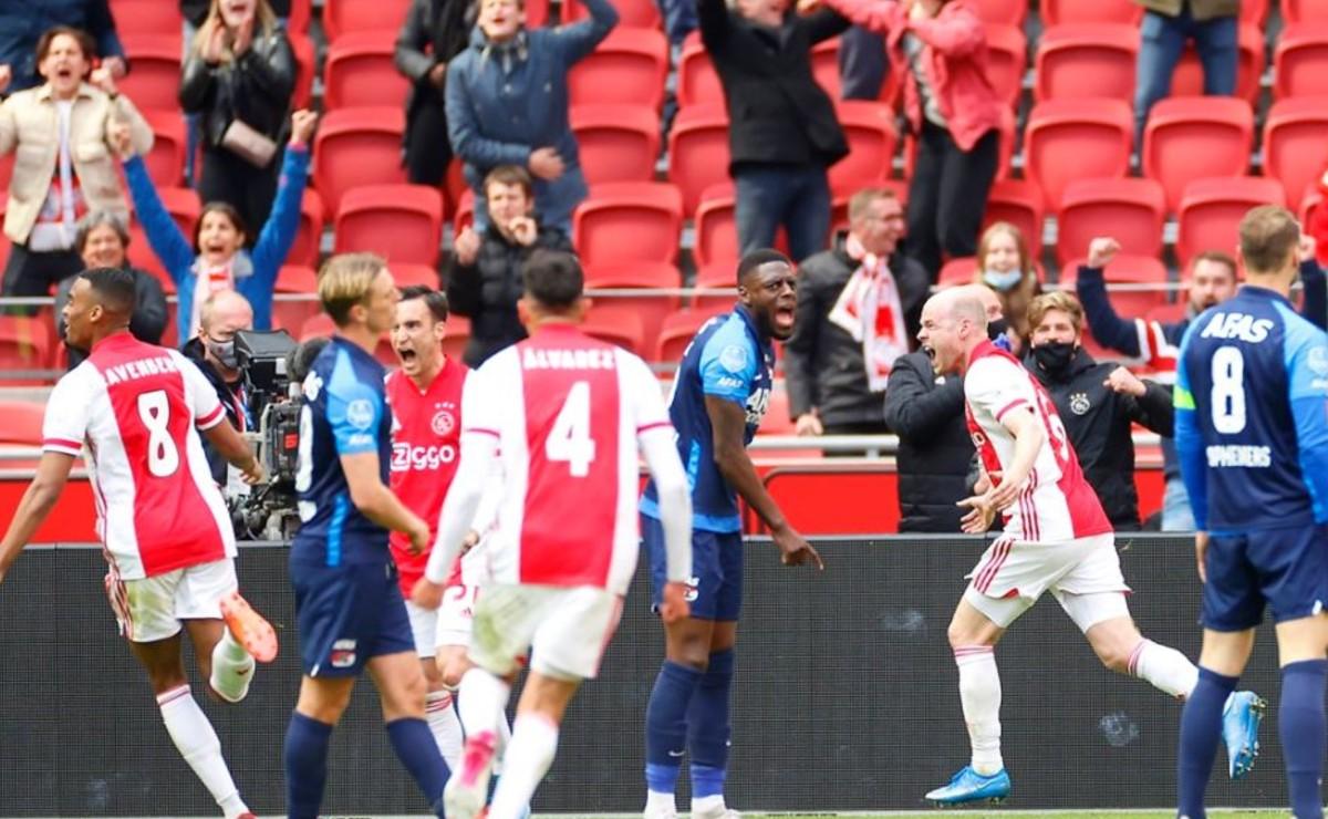 El Ajax de Edson Álvarez, campeón virtual de la Eredivisie